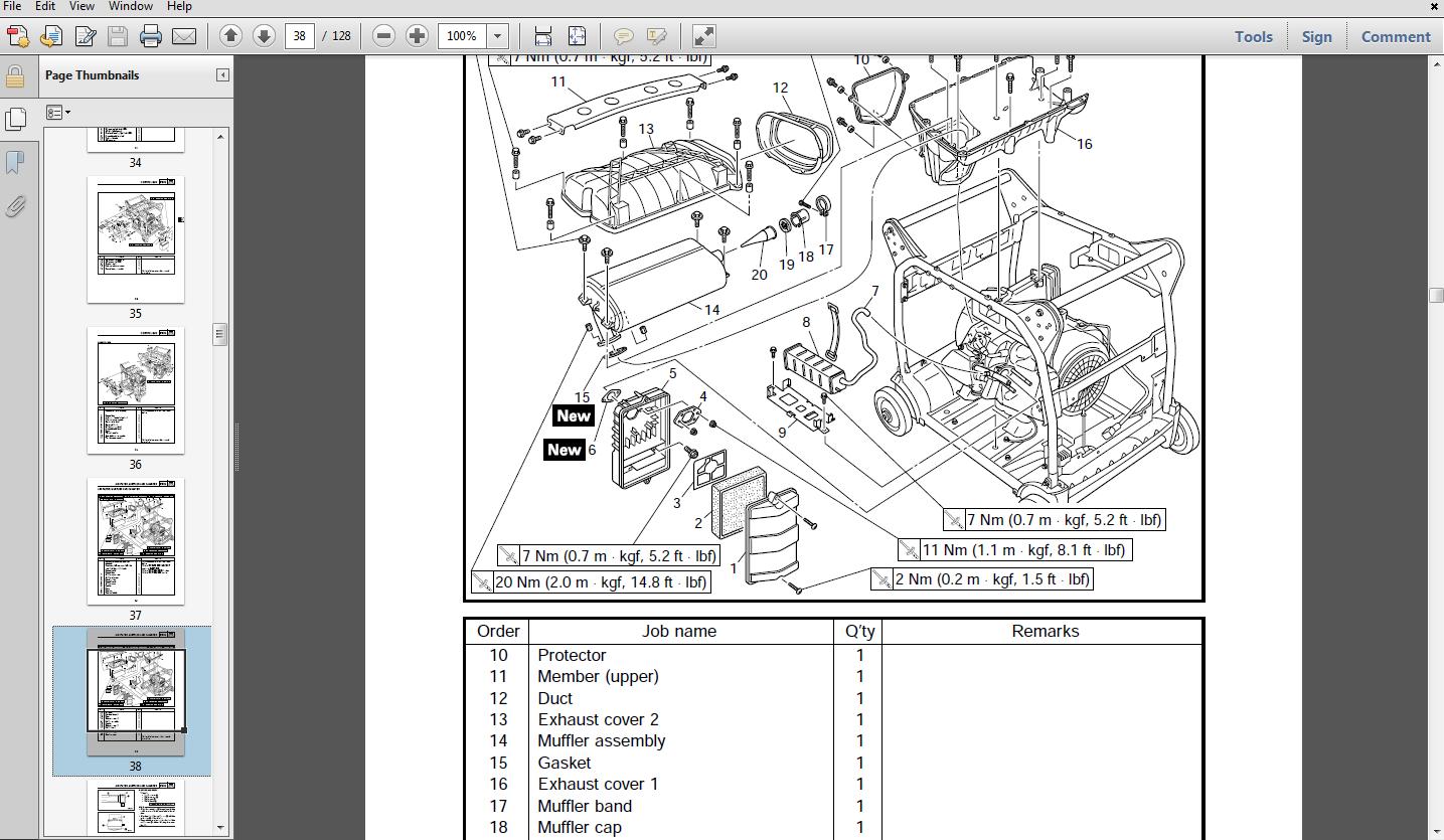 Yamaha Ef1000 Generator Service Manual Maintenance Manual